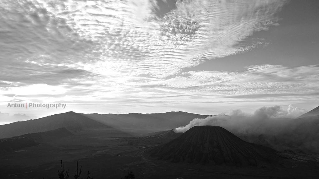 Mount Bromo view from Bukit Bintang