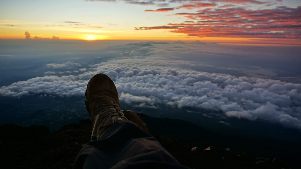 Sejauh mata memandang Gunung Slamet