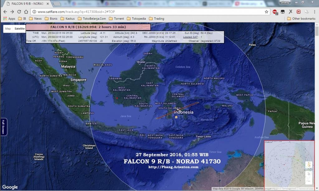 FALCON 9 R/B - NORAD 41730