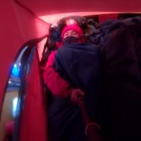 Kondisi Tidur didalam Tenda