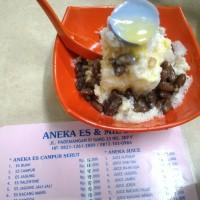 Aneka Es & Mie 288 Taiwan : Es Puding Kacang Merah